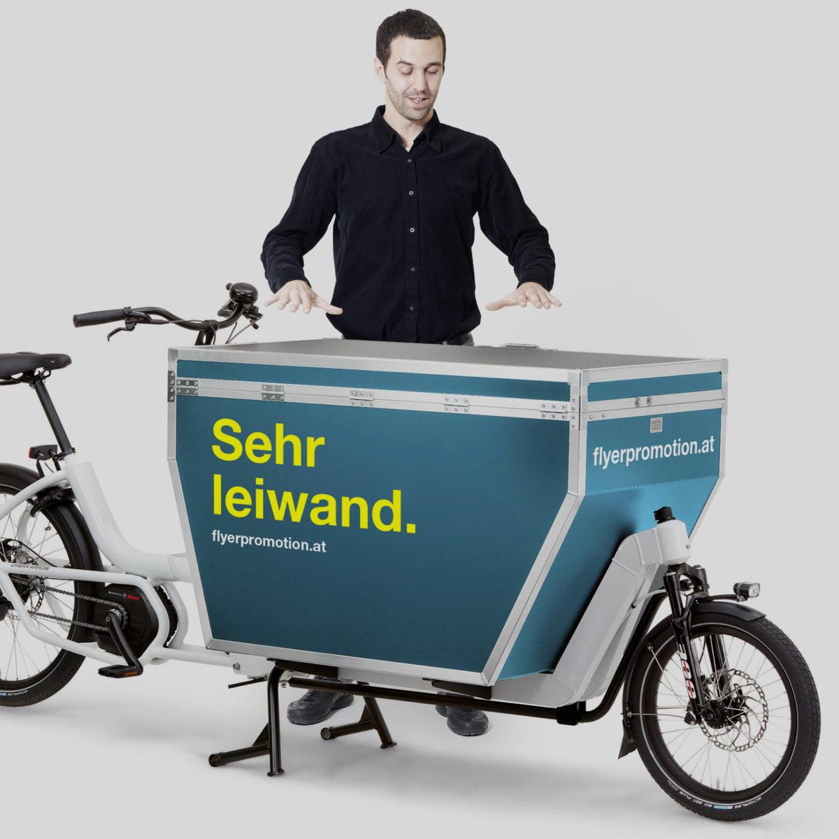 Klimaneutrale Auslieferung mit Lastenrädern